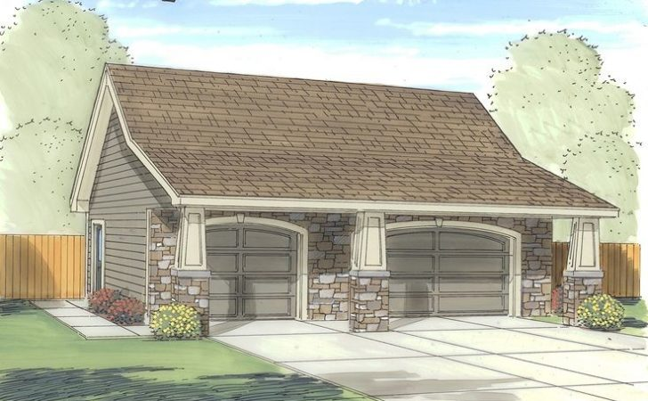 Car Garage Plans Three Plan Craftsman