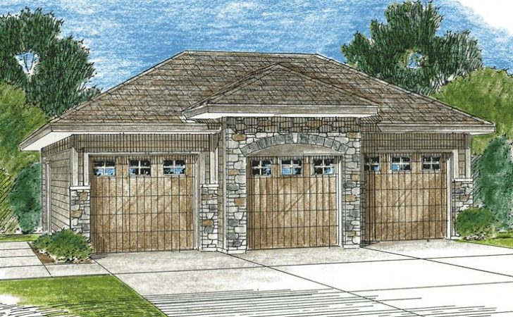 Car Garage Plans Three Plan Design