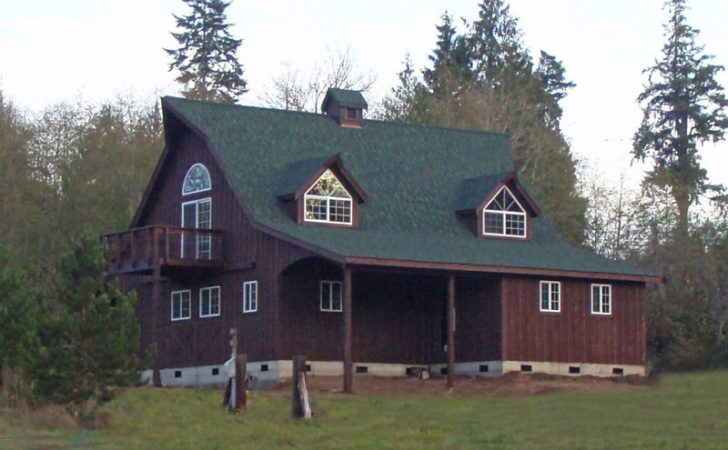 Carriage House Plans Pole Barn