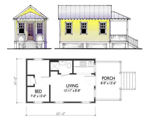 Carriage House Plans Small Cottage