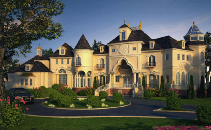 Castle Luxury House Plans Manors Chateaux Palaces