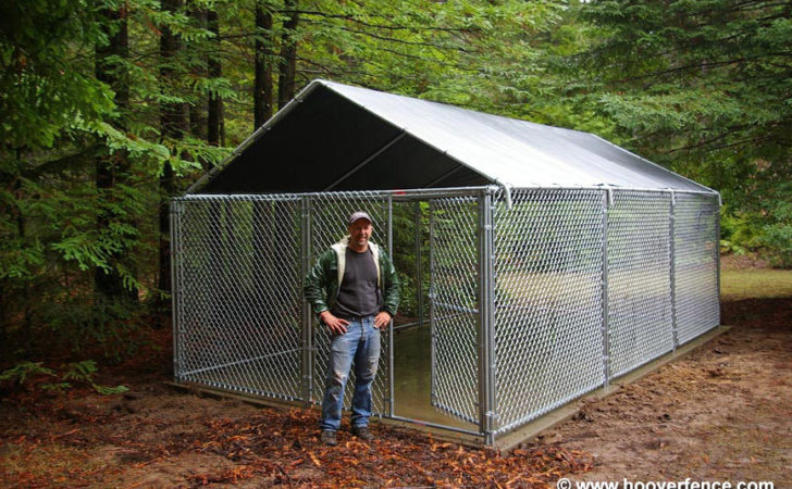 Chain Link Kennel Panel Customer Photos Hoover Fence