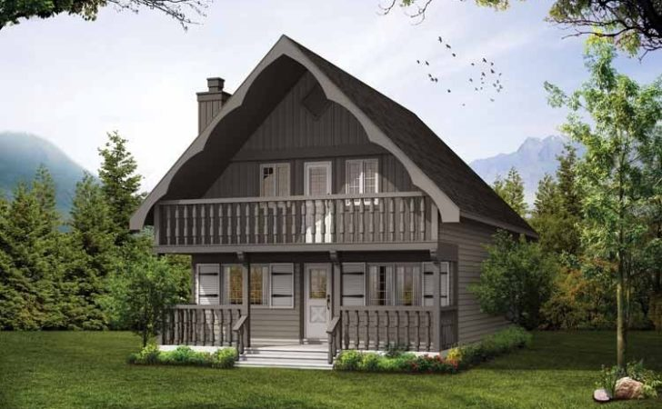 Chalet House Plans Eplans European