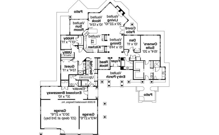 Chalet House Plans Missoula Associated Designs