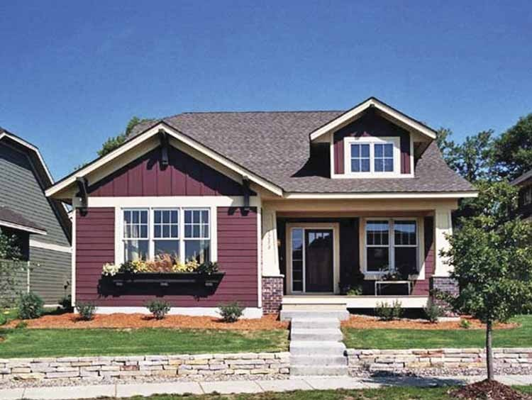 Characteristics Features Bungalow House Plan