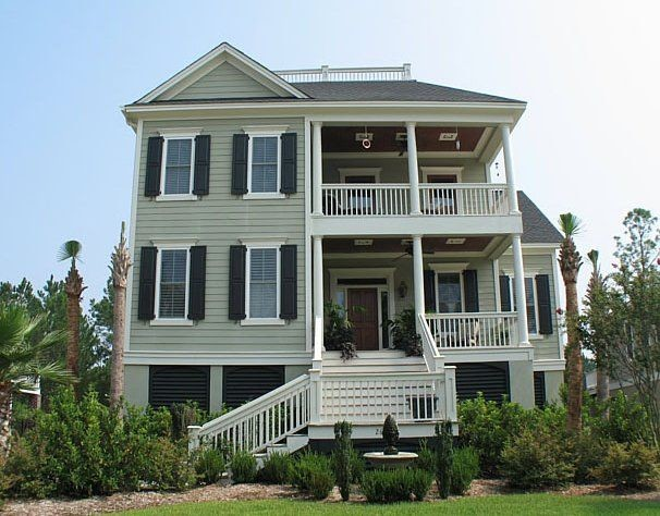 Charleston Style Home Plans Smalltowndjs