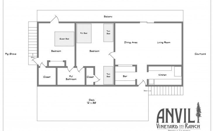 Charming Guest House Floor Plans Bedroom Collection