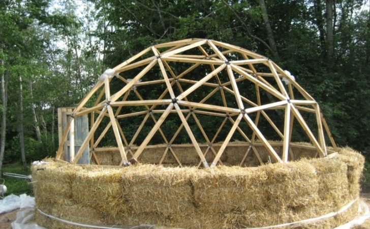 Cheap Efficient Straw Bale Dome Home