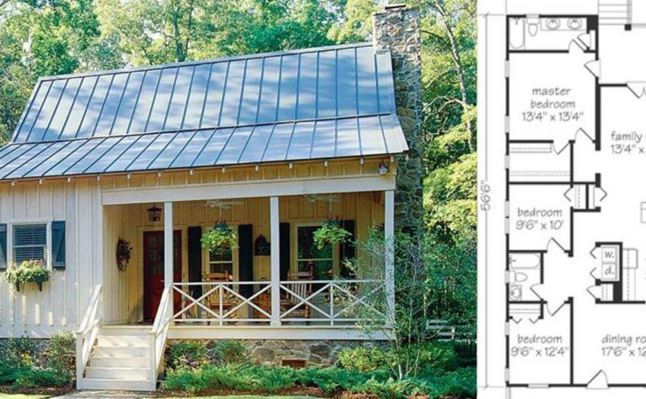 Check Out These Small Farmhouse Plans Cozy Living