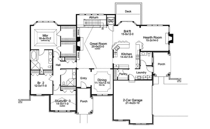 Cheshire Hills Efficient Home Plan House Plans
