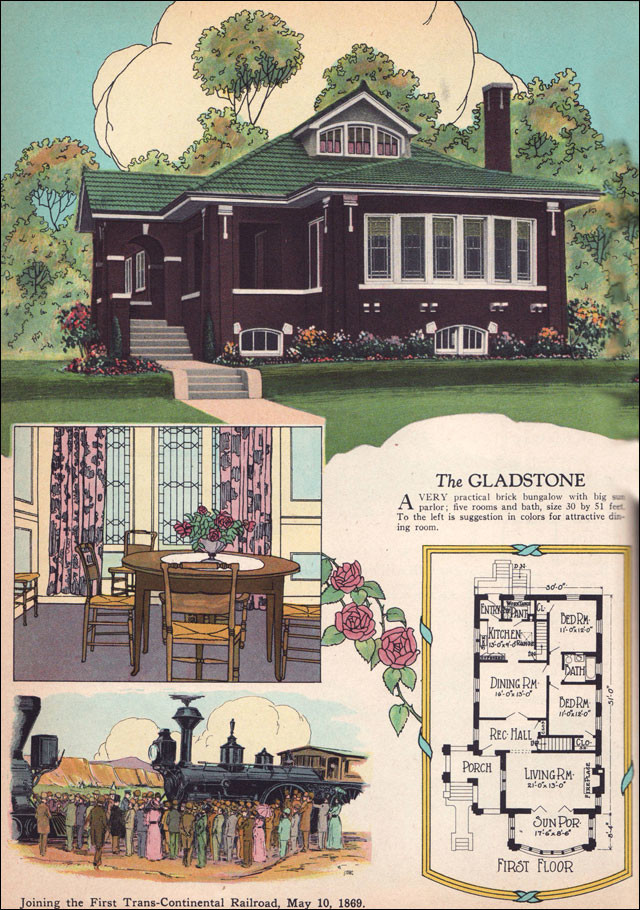 Chicago Style Brick Bungalow American Residential