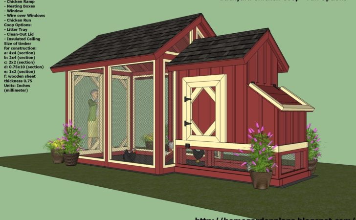 Chicken Coop Construction Plans Tbn Ranch