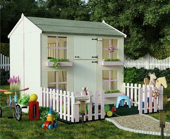 Children Wooden Playhouses Wendy Houses Garden