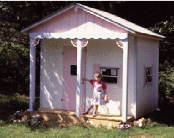 Childrens Playhouse Woodworking Plans