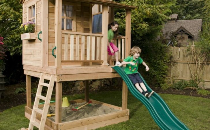Childrens Wooden Playhouses Plans
