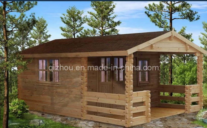 China Outside Wooden House Prefabricated