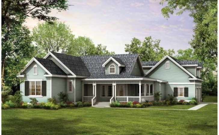 Choosing Country House Plans Wrap Around Porch