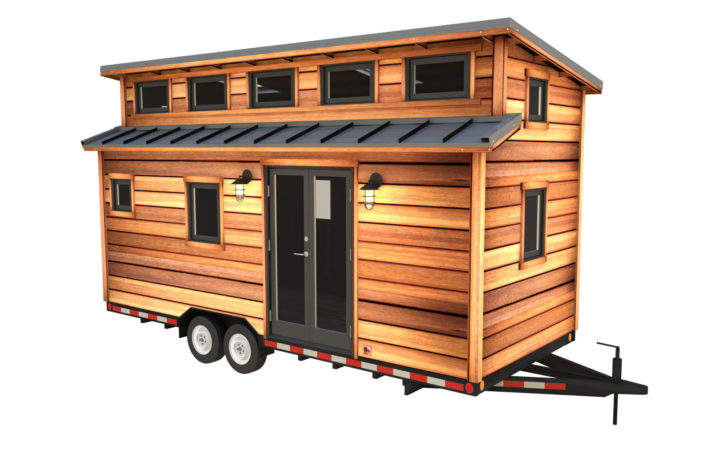 Cider Box Modern Tiny House Plans Your Home Wheels
