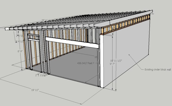 Cinder Block Garage Plans Ideas House
