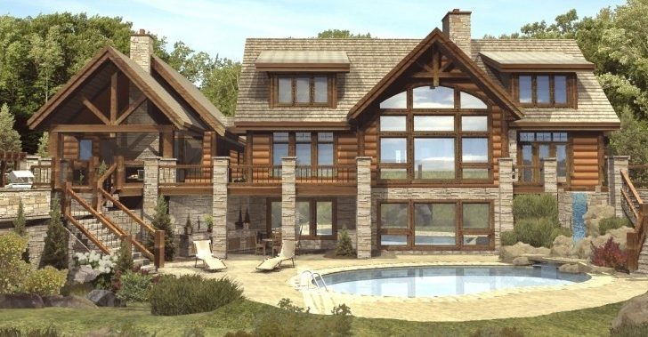 Claire Log Homes Cabins Home Floor Plans