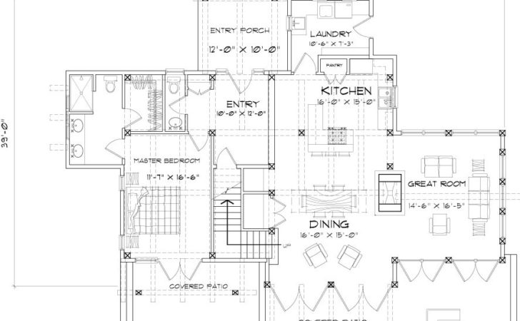 Clearwater Timber Frame Home Plan