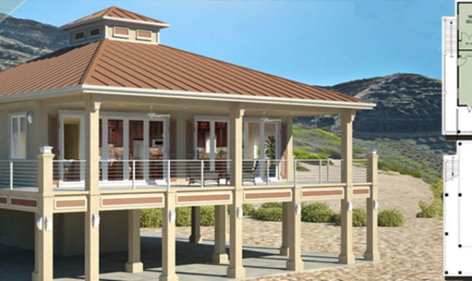 Coastal Home Plans Elevated Ideas House