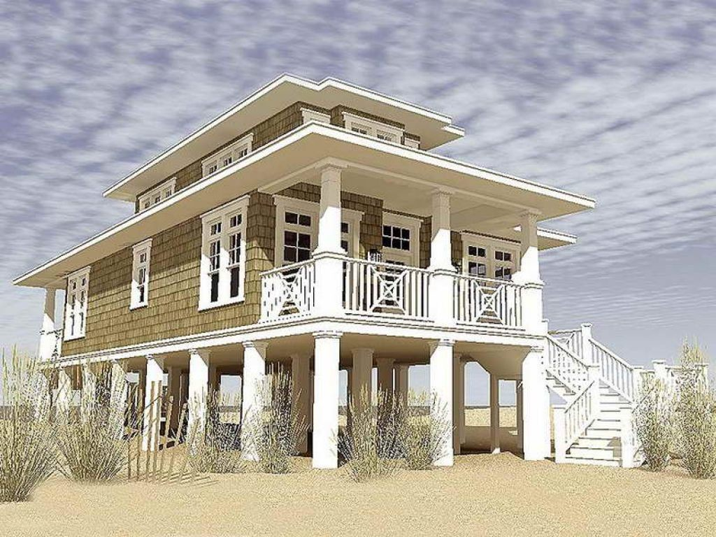 Coastal Living House Plans Pilings