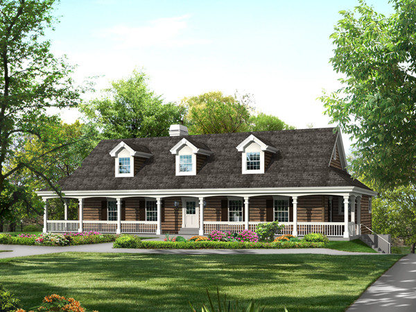 Cochepark Manor Country Home Plan House Plans
