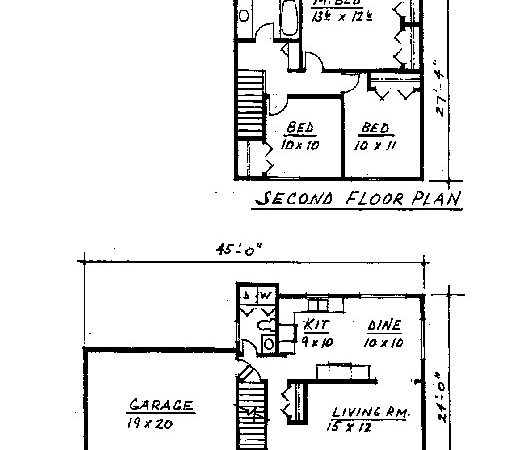 Colonial Floor Plan