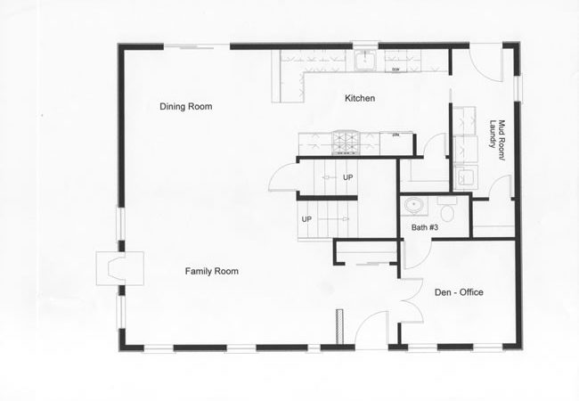 Colonial House Plans Open Floor Plan Valine