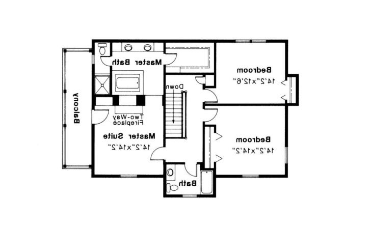 Colonial House Plans Rossford Associated Designs