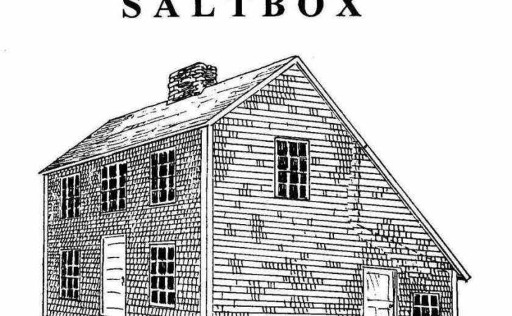 Colonial Saltbox Home Plans