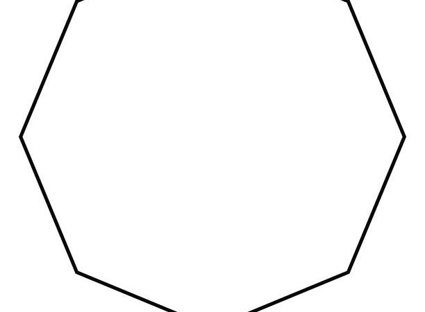 Coloring Pages Octagon Shape