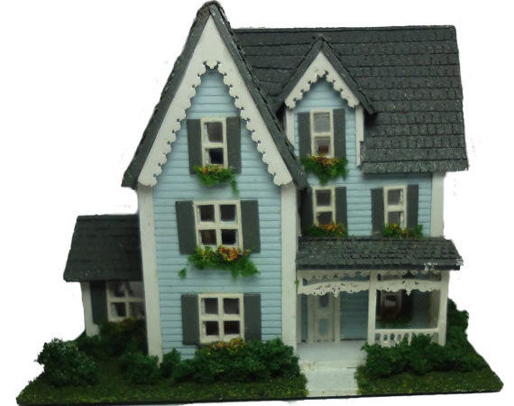Complete Kit Inch Victorian Style House