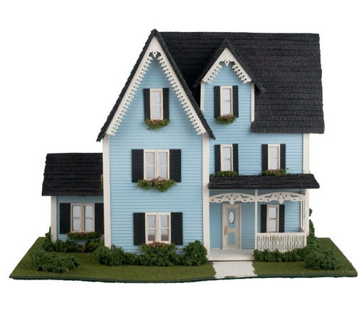 Complete Kit Quarter Inch Victorian Style House