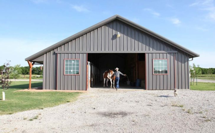 Complete Metal Building Home Pool Stable