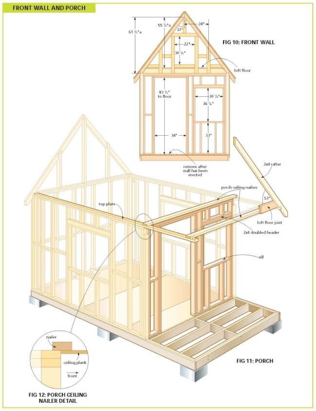 Completely Cottage Wood Cabin Plans
