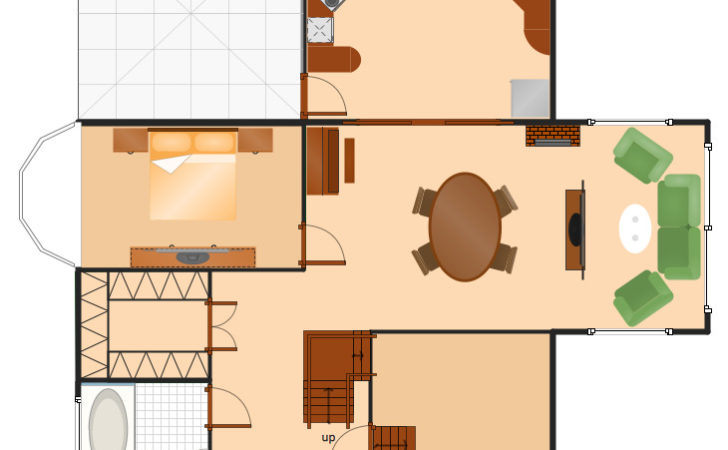 Conceptdraw Samples Building Plans Floor