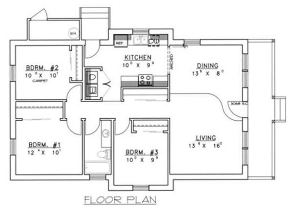 Concrete Block Floor Plans Gurus
