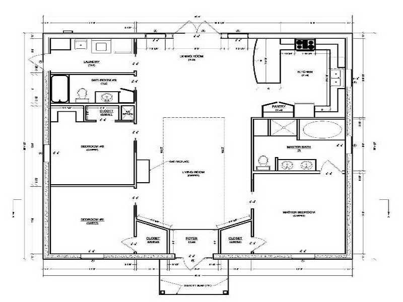 Concrete Block House Plans Smalltowndjs