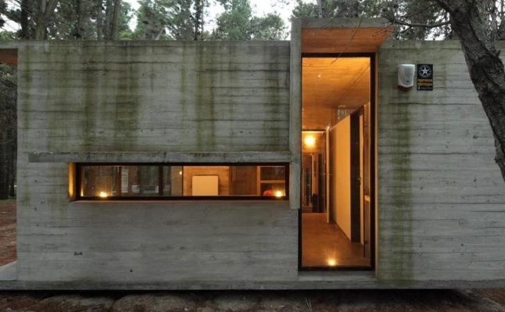 Concrete Glass Summer House