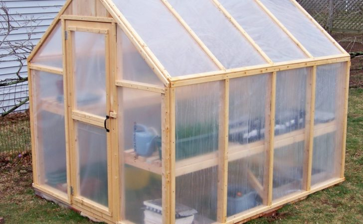 Construct Greenhouse Using Supplies Ideas