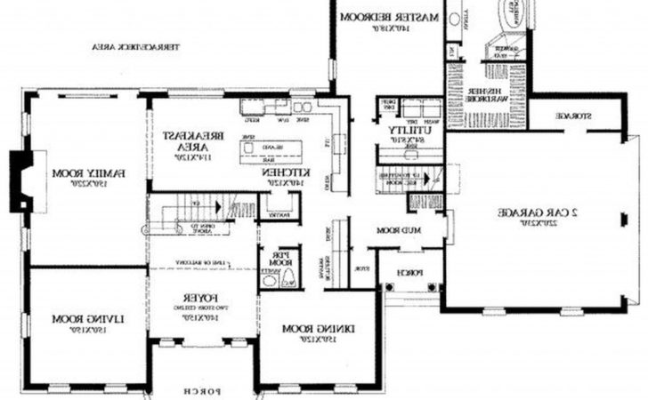 Contemporary Bedroom House Plans Modern