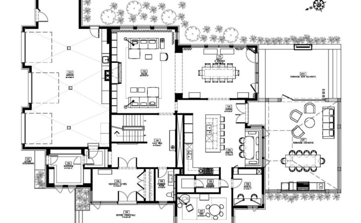 Contemporary Home Floor Plans Designs Delightful