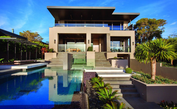Contemporary Home Melbourne Resort Style Modern