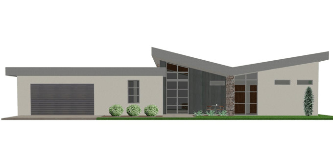 Contemporary House Plan Modern