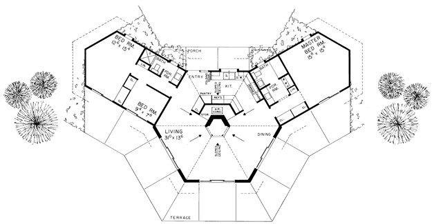 Contemporary House Plan Ultimate Home Plans