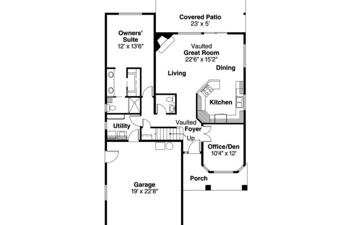 Contemporary House Plans Blanchard Associated