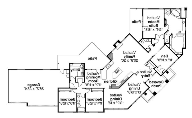 Contemporary House Plans Hawthorne Associated