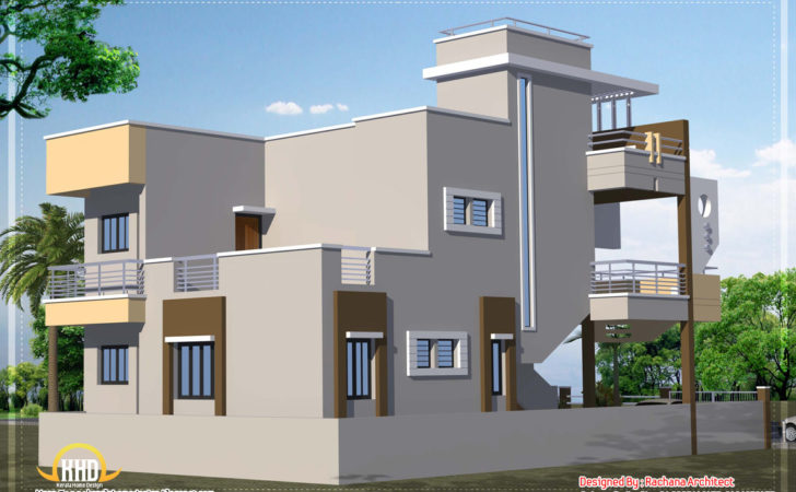 Contemporary India House Plan Indian Home